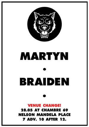 Deadly Rhythm present Martyn & Braiden