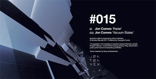 Jon Convex – Radar/Vacuum States