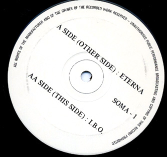 Slam - Eterna - vinyl label