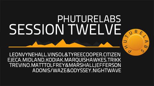 Phuturelabs – Session Twelve – October 2013 - artwork