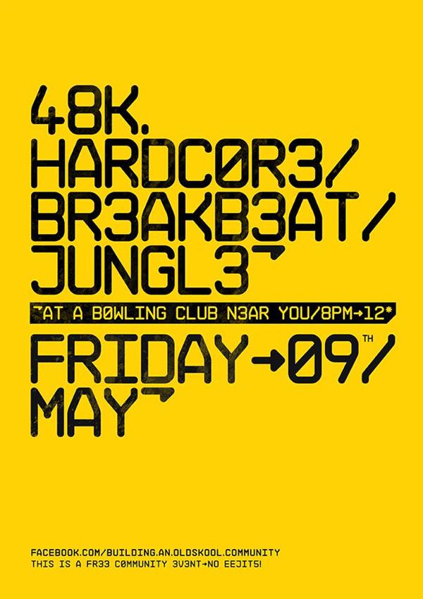 48k at St Vincent Bowling Club - Friday 9th May - poster
